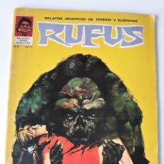 Tebeos: RUFUS Nº 3. Lote 223740616