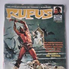 Tebeos: RUFUS Nº 21. Lote 223740968