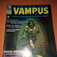 Tebeos: VAMPUS . Nº 18. 1972. IBERO MUNDIAL DE EDICIONES. SIN POSTER. Lote 227071590