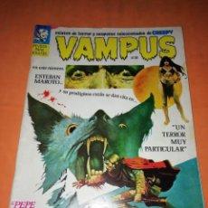 Tebeos: VAMPUS . Nº 20. 1973. IBERO MUNDIAL DE EDICIONES. CON POSTER. Lote 227072945