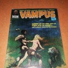 Tebeos: VAMPUS . Nº 29. 1972. IBERO MUNDIAL DE EDICIONES. CON POSTER. Lote 227076099