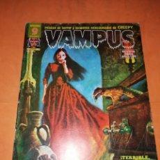 Tebeos: VAMPUS . Nº 45. 1974. IBERO MUNDIAL DE EDICIONES. CON POSTER. Lote 227238665