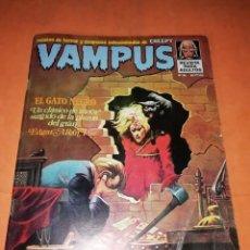 Tebeos: VAMPUS . Nº 36. 1974. IBERO MUNDIAL DE EDICIONES. CON POSTER. Lote 227239642