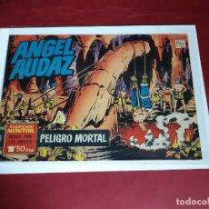 Tebeos: ANGEL AUDAZ -Nº 9 - ED. IBERO MUNDIAL DE EDICIONES 1962-IMPECABLE ESTADO. Lote 227563540