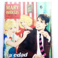 """Tebeos: MARY """"NOTICIAS"""" EXTRA Nº 26 - LA EDAD DIFICIL. Lote 227866165"""