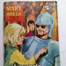 """Tebeos: MARY """"NOTICIAS"""" EXTRA Nº 23 - EL MUNDO EN SUS PUÑOS. Lote 227866330"""