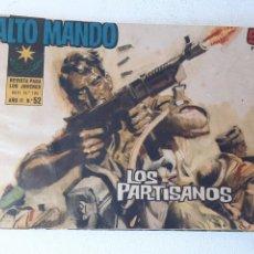 Tebeos: ALTO MANDO AÑO II Nº 52 - LOS PARTISANOS - IBERO MUNDIAL DE EDICIONES AÑO 1964. Lote 228084995