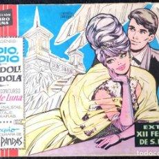 Tebeos: CLARO DE LUNA - EXTRA - XII FESTIVAL DE SAN REMO (ADDIO, ADDIO) (GONDOLI, GONDOLA) I.M.D.E 1962. Lote 228292390