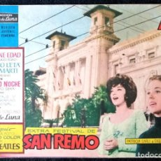 Tebeos: CLARO DE LUNA - EXTRA - XIV FESTIVAL DE SAN REMO 1964 - IBERO-MUNDIAL 1964 ''BUEN ESTADO''. Lote 228314862