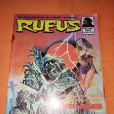 Tebeos: RUFUS. Nº 18. IBERO MUNDIAL EDICIONES 1974. Lote 229495245