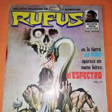 Tebeos: RUFUS. Nº 14. IBERO MUNDIAL EDICIONES 1974. Lote 229496985