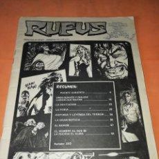 Tebeos: RUFUS. Nº 11. IBERO MUNDIAL EDICIONES 1974. SIN PORTADA NI CONTRAPORTADA. Lote 229498045