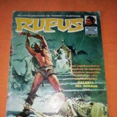 Tebeos: RUFUS. Nº 21. IBERO MUNDIAL EDICIONES 1974.. Lote 229498765