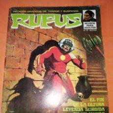 Tebeos: RUFUS. Nº 15. IBERO MUNDIAL EDICIONES 1974.. Lote 229499440