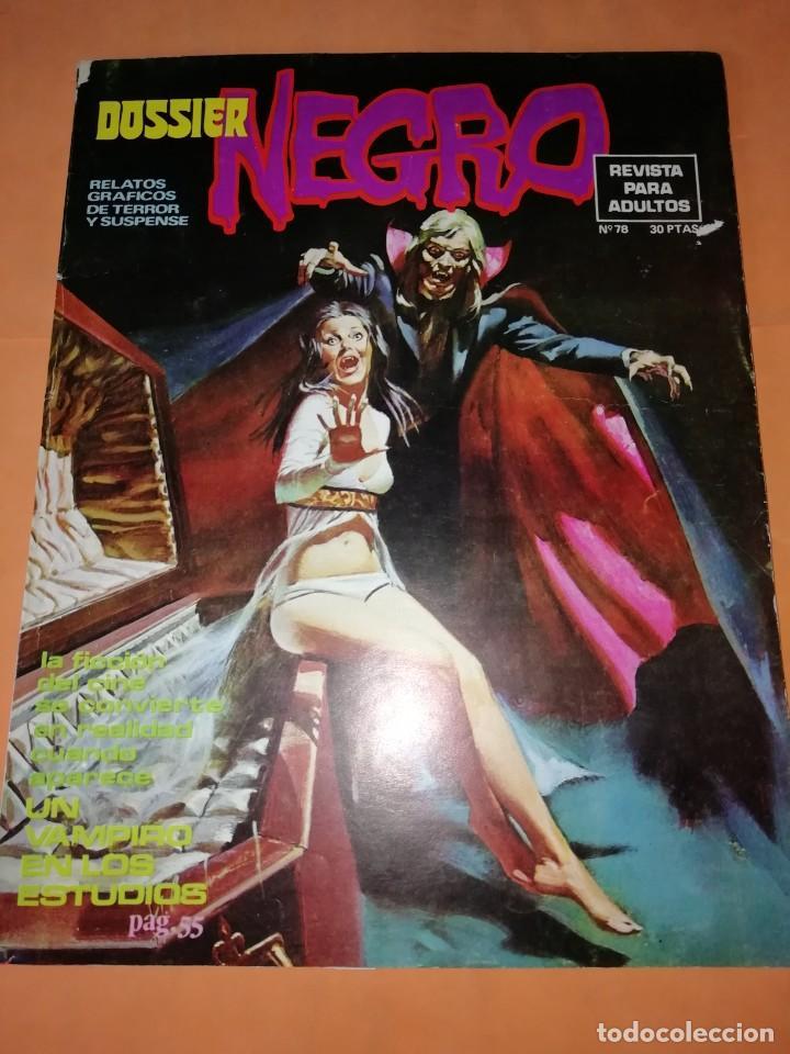 DOSSIER NEGRO. Nº 78. IBERO MUNDIAL EDICIONES. 1976 (Tebeos y Comics - Ibero Mundial)
