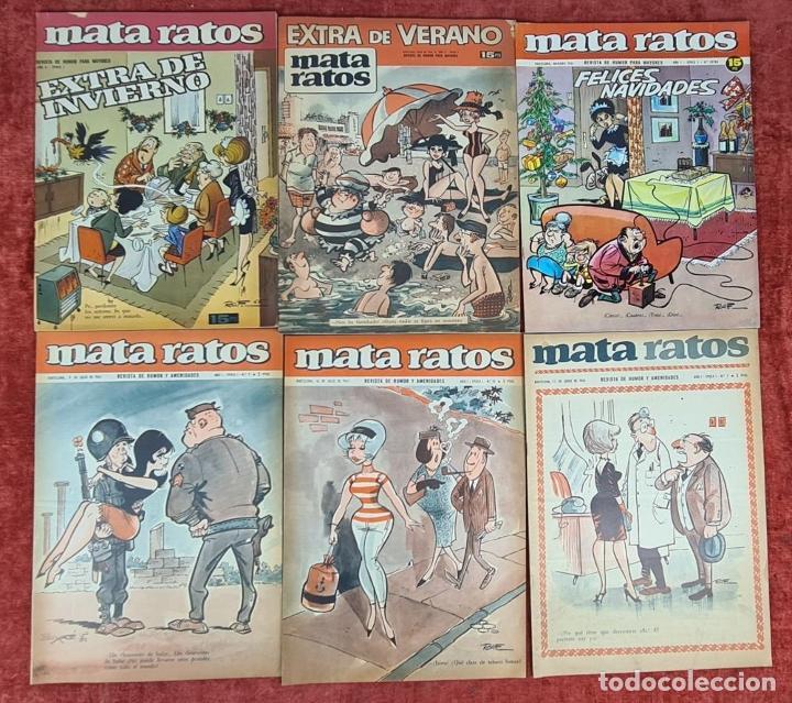 Tebeos: COLECCION DE 61 REVISTAS DE HUMOR MATA RATOS. IBERO MUNDIAL. AÑOS 60. - Foto 5 - 230554370