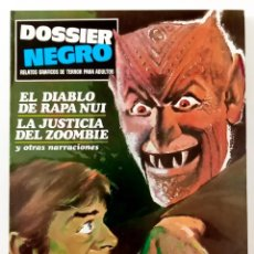 Giornalini: DOSSIER NEGRO Nº 8 - IBERO MUNDIAL -1970 - RELATOS GRAFICOS DE TERROR - COMO NUEVO. Lote 235829520