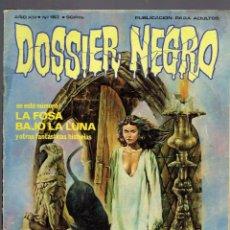 Tebeos: 6 COMICS DE DOSSIER NEGRO AÑO 1970 N,163-99-97-203-EXTRA N,200-172.. Lote 236672600