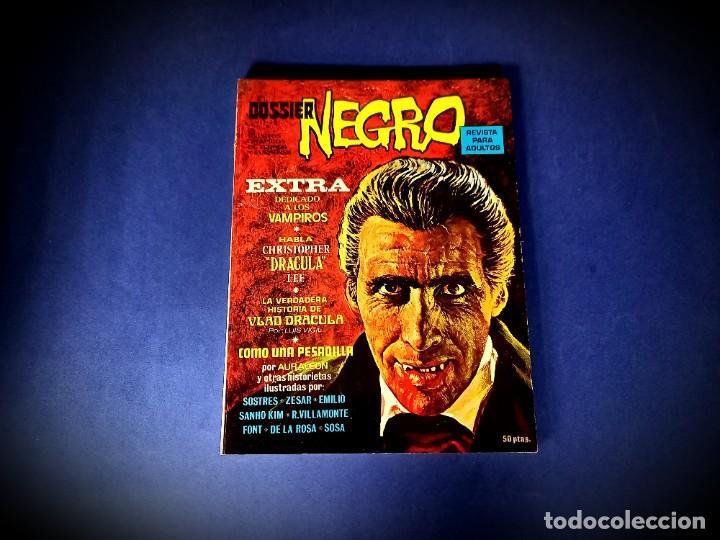 DOSSIER NEGRO EXTRA VAMPIROS -EXCELENTE ESTADO (Tebeos y Comics - Ibero Mundial)
