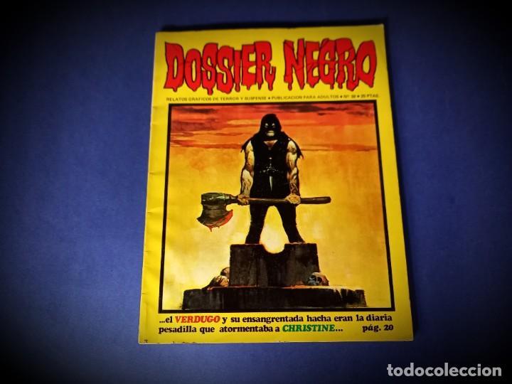 DOSSIER Nº 38 -EXCELENTE ESTADO (Tebeos y Comics - Ibero Mundial)