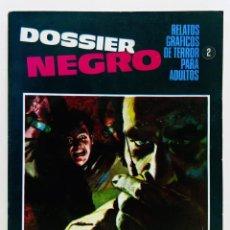 Giornalini: DOSSIER NEGRO Nº 2 - IBERO MUNDIAL -1968 - RELATOS GRAFICOS DE TERROR - BUEN ESTADO. Lote 251900225