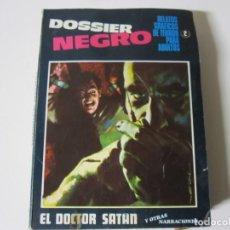 Tebeos: DOSSIER NEGRO DELTA ZINCO 2 1968 · EL DOCTOR SATAN. Lote 238278170