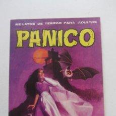 Tebeos: PÁNICO -RELATOS DE TERROR PARA ADULTOS- Nº 1. VILMAR 1972. DE 12 PTS ARX55. Lote 238650365