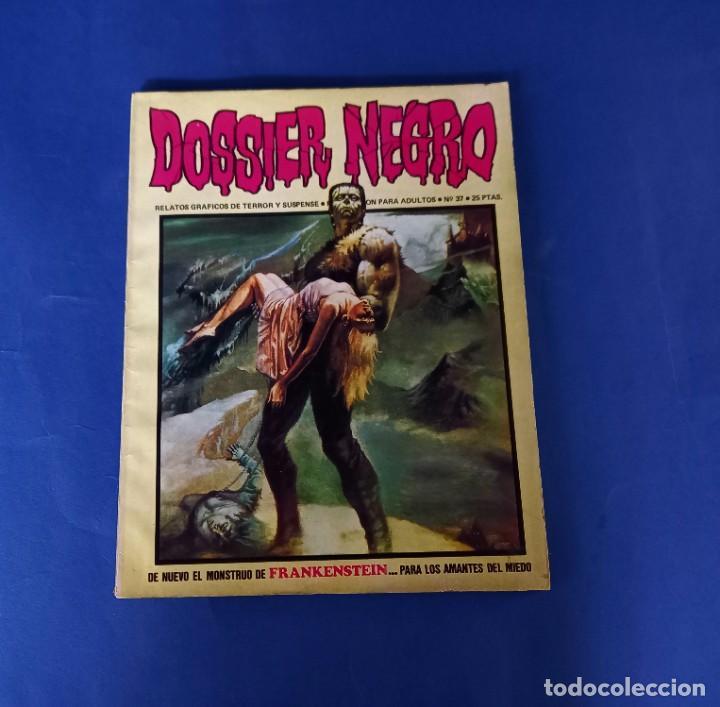 DOSSIER NEGRO Nº 37 (Tebeos y Comics - Ibero Mundial)