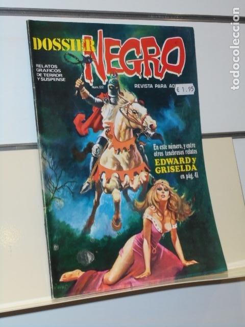 DOSSIER NEGRO Nº 122 - IBERO MUNDIAL (Tebeos y Comics - Ibero Mundial)