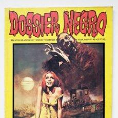 Livros de Banda Desenhada: DOSSIER NEGRO Nº 42 RELATOS GRAFICOS DE TERROR Y SUSPENSE IBERO MUNDIAL DE EDICIONES 1972. Lote 243685255