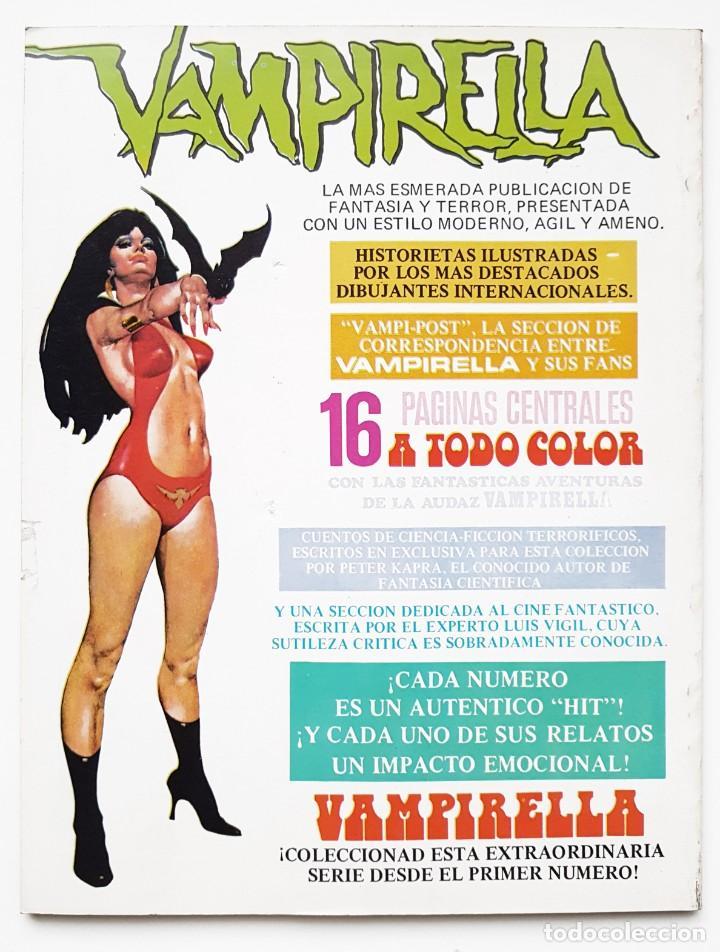Tebeos: DOSSIER NEGRO Nº 71 RELATOS GRAFICOS DE TERROR Y SUSPENSE IBERO MUNDIAL DE EDICIONES 1975 - Foto 2 - 243686735
