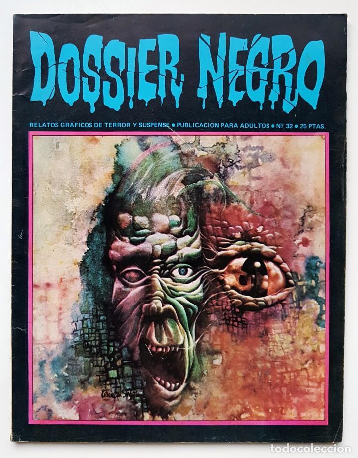 DOSSIER NEGRO Nº 32 RELATOS GRAFICOS DE TERROR Y SUSPENSE IBERO MUNDIAL DE EDICIONES 1972 (Tebeos y Comics - Ibero Mundial)