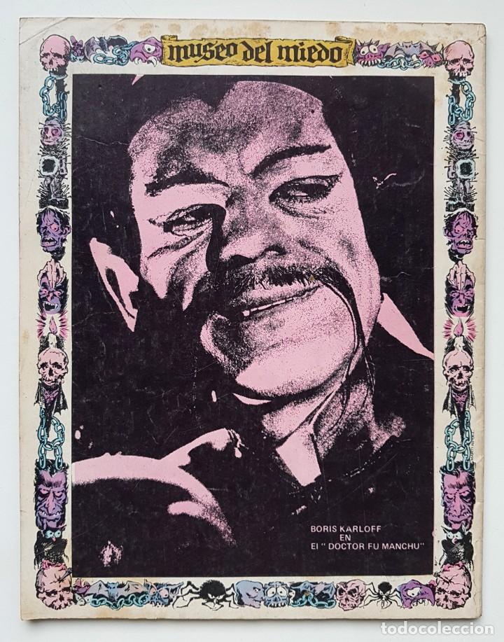 Tebeos: DOSSIER NEGRO Nº 32 RELATOS GRAFICOS DE TERROR Y SUSPENSE IBERO MUNDIAL DE EDICIONES 1972 - Foto 2 - 243688495