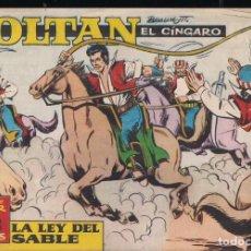 Tebeos: ZOLTAN EL CÍNGARO Nº 53: LA LEY DEL SABLE. Lote 245453960