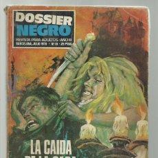 Tebeos: DOSSIER NEGRO 16, 1970, IBERO MUNDIAL DE EDICIONES. Lote 245532955