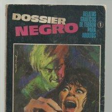 Tebeos: DOSSIER NEGRO 1, 1969, IBERO MUNDIAL DE EDICIONES. Lote 245533590