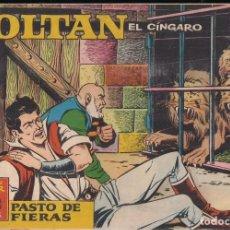 Tebeos: ZOLTAN EL CÍNGARO Nº 59: PASTO DE FIERAS. Lote 245611120
