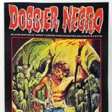 BDs: DOSSIER NEGRO Nº 45 RELATOS GRAFICOS TERROR Y SUSPENSE IBERO MUNDIAL EDICIONES 1973 EXCELENTE. Lote 246991140