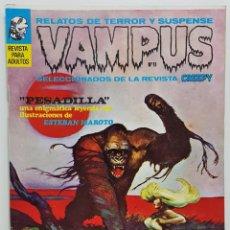 Giornalini: VAMPUS Nº 11 - RELATOS TERROR Y SUSPENSE - IBERO MUNDIAL - SELECCION DE CREEPY - 1972. Lote 247726720