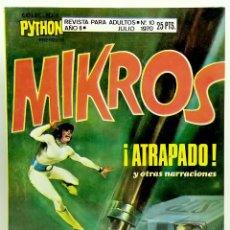 Giornalini: COMIC PYTHON Nº 10 ATRAPADO - IBERO MUNDIAL DE EDICIONES - JULIO 1970 - MUY BUEN ESTADO. Lote 248977075