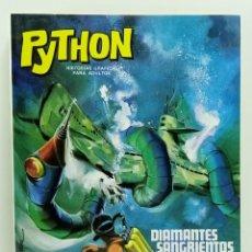 Giornalini: COMIC PYTHON Nº 5 DIAMANTES SANGRIENTOS - IBERO MUNDIAL DE EDICIONES - 1969 - 128 PGS BUEN ESTADO. Lote 248987785