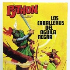 Giornalini: COMIC PYTHON Nº 3 LOS CABALLEROS DEL AGUILA NEGRA - IBERO MUNDIAL - 1969 - 128 PGS BUEN ESTADO. Lote 282002263