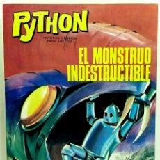 Giornalini: COMIC PYTHON Nº 7 EL MONSTRUO INDESTRUCTIBLE- IBERO MUNDIAL DE EDICIONES - 1969 - MUY BUEN ESTADO. Lote 249003195