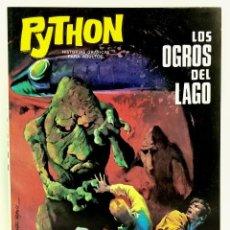 Giornalini: COMIC PYTHON Nº 6 LOS OGROS DEL LAGO - IBERO MUNDIAL DE EDICIONES - 1969 - 128 PGS BUEN ESTADO. Lote 249003210