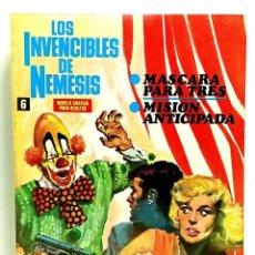 Giornalini: LOS INVENCIBLES DE NEMESIS Nº 6 - IBERO MUNDIAL DE EDICIONES - 1969 - MUY BUEN ESTADO. Lote 249012490