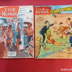 Tebeos: CLUB DEL HUMOR EXTRA DE VERANO NUMEROS : 10 Y 33 - LABORATORIOS FIDES -. Lote 249104885