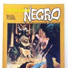 Giornalini: DOSSIER NEGRO Nº 52 RELATOS GRAFICOS TERROR Y SUSPENSE IBERO MUNDIAL EDICIONES 1973. Lote 251564635