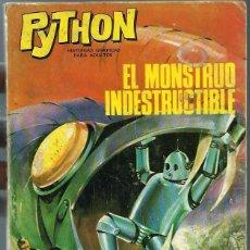Tebeos: PYTHON Nº 7 - EL MONSTRUO INDESTRUCTIBLE - IBEROMUNDIAL 1970 - EL DE LA FOTO. Lote 252023770