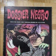 Tebeos: COMIC DOSSIER NEGRO Nº 19 RELATOS GRAFICOS DE TERROR Y SUSPENSE IBERO MUNDIAL DE EDICIONES 1970. Lote 254022815