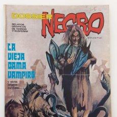 Livros de Banda Desenhada: DOSSIER NEGRO Nº 57 RELATOS GRAFICOS TERROR Y SUSPENSE IBERO MUNDIAL EDICIONES 1974. Lote 254584375